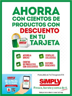Ofertas de Hiper Simply  en el folleto de Zaragoza