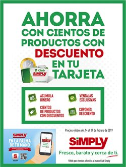 Ofertas de Hiper Simply  en el folleto de Ávila