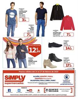 Ofertas de Jeans  en el folleto de Hiper Simply en Ávila