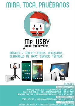 Ofertas de Mr. USBY  en el folleto de Barcelona