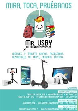 Ofertas de Mr. USBY  en el folleto de Mataró