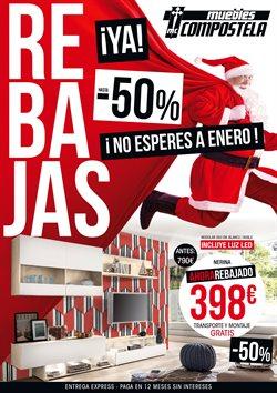Ofertas de Muebles Compostela  en el folleto de Milladoiro