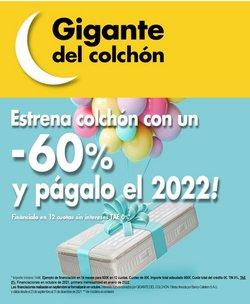 Catálogo Gigante del Colchon ( 9 días más)