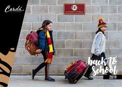 Ofertas de Mochilas escolares  en el folleto de Cerdà en Madrid
