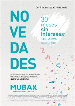 Ofertas de Hogar y muebles  en el folleto de Mubak en Santander