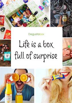 Ofertas de Degustabox  en el folleto de Barcelona
