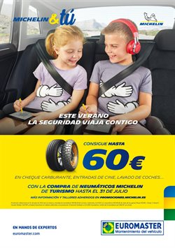 Ofertas de Coche, moto y recambios  en el folleto de Euromaster en Pinto