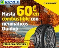 Ofertas de Dunlop en el catálogo de Euromaster ( Más de un mes)