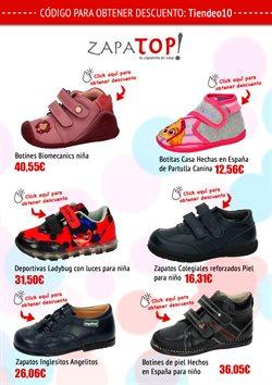 Ofertas de Zapatos niña  en el folleto de Zapatop en Madrid