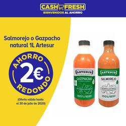 Cupón Cash Fresh en Granada ( 19 días más )