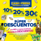 Cupón Cash Fresh ( 6 días más )