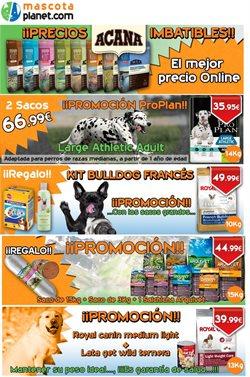 Ofertas de Mascotas  en el folleto de Mascotaplanet en Madrid