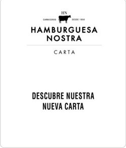 Ofertas de Hamburguesa Nostra  en el folleto de Alcalá de Henares