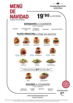 Ofertas de Hamburguesa Nostra  en el folleto de Madrid