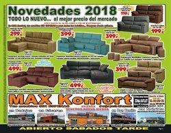 Ofertas de Max Konfort  en el folleto de Badajoz
