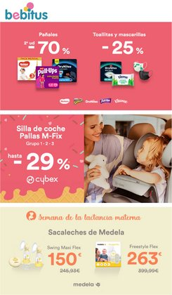 Ofertas de Juguetes y Bebés en el catálogo de Bebitus ( Publicado ayer)