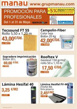 Ofertas de Manau  en el folleto de Barcelona