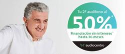 Ofertas de Salud y ópticas  en el folleto de Audiocentro en Ourense
