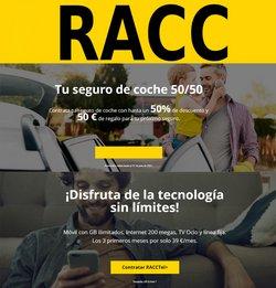 Ofertas de Bancos y Seguros en el catálogo de RACC ( Caduca hoy)