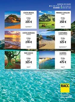 Ofertas de Viajes a costas en RACC