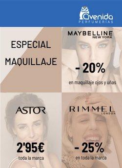 Ofertas de Perfumerías Avenida en el catálogo de Perfumerías Avenida ( Caducado)