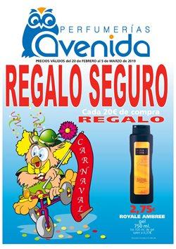 Ofertas de Perfumerías y belleza  en el folleto de Perfumerías Avenida en Huelva