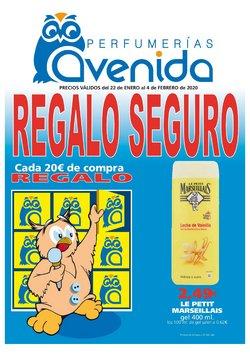 Ofertas de Perfumerías Avenida  en el folleto de Oliva