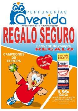 Catálogo Perfumerías Avenida en Segovia ( Caduca hoy )
