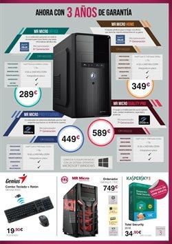 Ofertas de Antivirus  en el folleto de MR Micro en Madrid