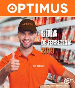 Ofertas de Jardín y bricolaje  en el folleto de Optimus en Lucena