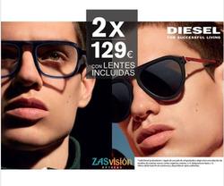 Ofertas de Gafas de sol  en el folleto de Zas Visión en Valladolid