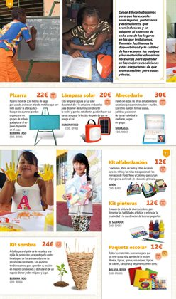 Ofertas de Pizarra  en el folleto de Educo en Madrid