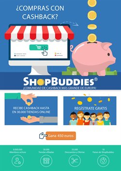 Ofertas de ShopBuddies  en el folleto de Madrid