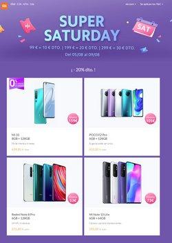 Catálogo Xiaomi en Velez ( Publicado hoy )