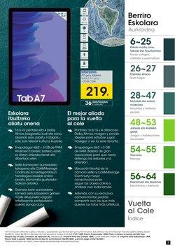 Ofertas de Samsung en el catálogo de Eroski ( Caduca hoy)