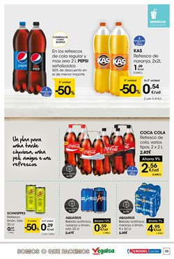 Ofertas de Coca-Cola  en el folleto de Eroski en Vigo