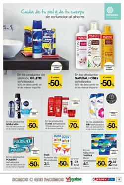 Ofertas de Gillette  en el folleto de Eroski en Vigo