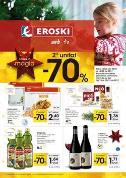 Ofertas de Eroski  en el folleto de Barcelona