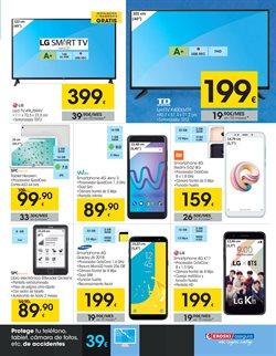 Ofertas de Smartphones LG  en el folleto de Eroski en Dos Hermanas