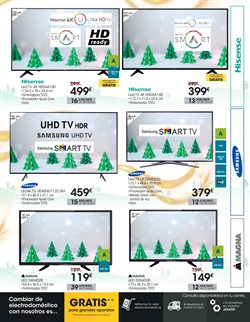 Ofertas de Tv led  en el folleto de Eroski en Utrera