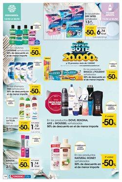 Ofertas de Champú  en el folleto de Eroski en A Coruña