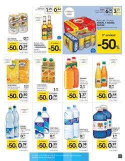 Ofertas de Agua  en el folleto de Eroski en Pamplona