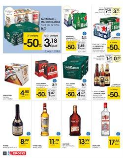 Ofertas de Whisky  en el folleto de Eroski en Pamplona