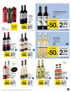 Ofertas de Vino  en el folleto de Eroski en Pamplona