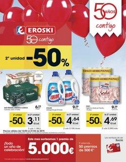 Ofertas de San Miguel  en el folleto de Eroski en Málaga