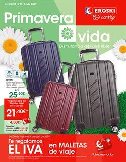 Ofertas de Viajes  en el folleto de Eroski en Pamplona