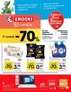 Ofertas de Eroski  en el folleto de Irún