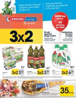 Ofertas de Hiper-Supermercados  en el folleto de Eroski en Eibar