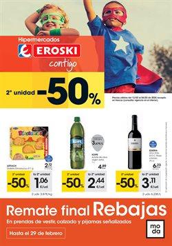 Ofertas de Hiper-Supermercados en el catálogo de Eroski en Arnedo ( 9 días más )