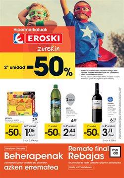 Ofertas de Hiper-Supermercados en el catálogo de Eroski en Mungia ( 7 días más )